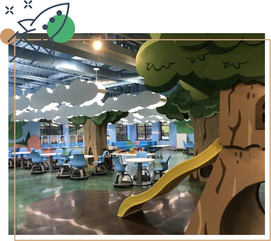 Inventionland designed classroom